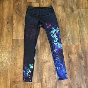 Calia Opulent Black Floral Legging S
